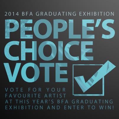 2014 BFA Grad Exhibition People's Choice