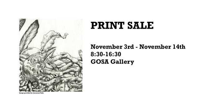 Print Sale Poster