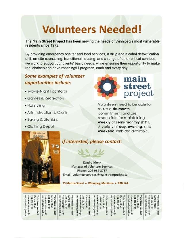 MSP Volunteer Ad Sept 2015