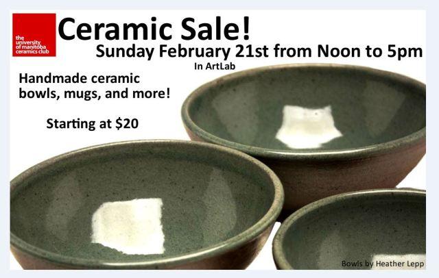 Ceramics Sale 2016