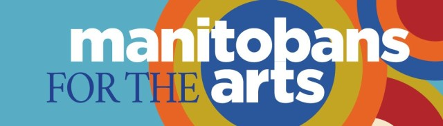Manitobans and arts logo