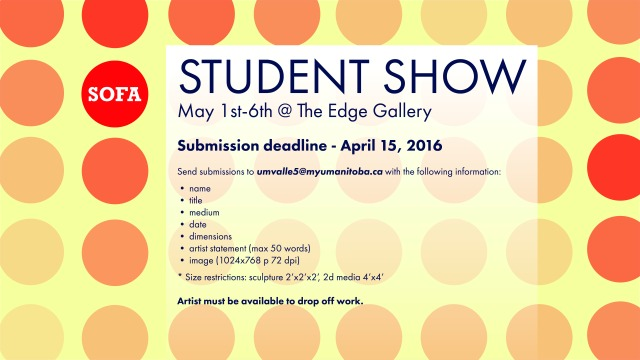 May student show