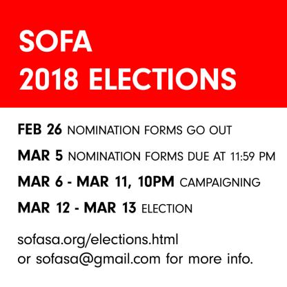SOFASA 2018 Elections